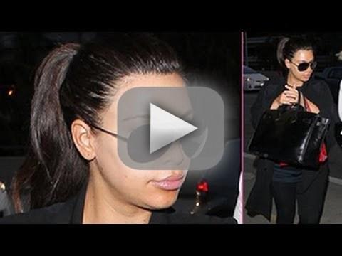 Kim Kardashian Yells at Paparazzi