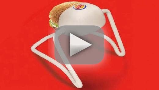 Hands-Free Whopper Commercial