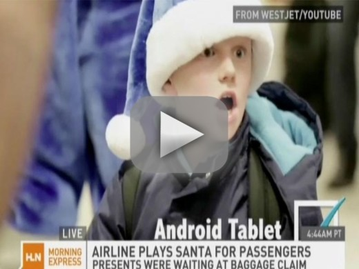 Airline Finds Out What Passengers Want For Christmas, Leaves Presents at Baggage Claim