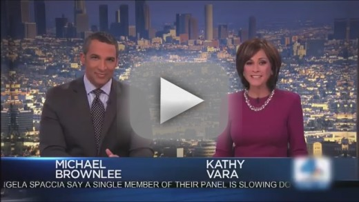 Los Angeles Reporters React to Weather: It's SO Cold!