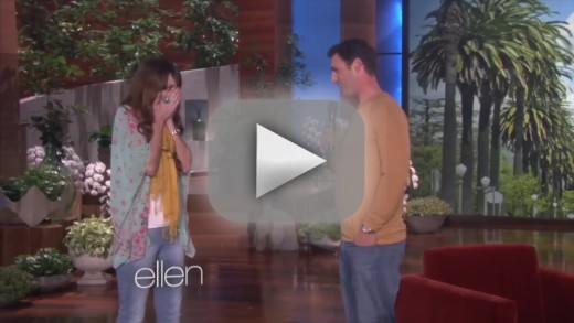Man Proposes on Ellen, Tells Girlfriend: You've Been Great!
