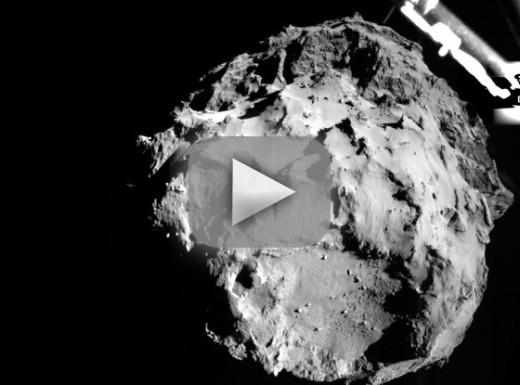 Comet Landing Elicits Epic #WeCanLandOnACometButWeCant ...
