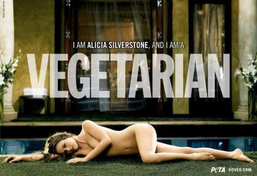 Alicia Silverstone Nude