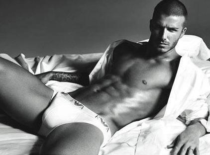 David Beckham... in Underwear!