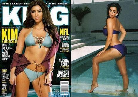 Kim Kardashian, King Magazine