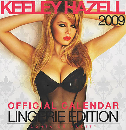 Keeley Hazell 2009 Calendar