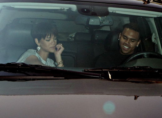 Chris Brown, Rihanna Pic