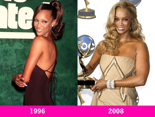 Tyra Banks Then and Now