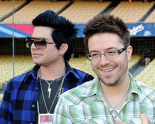 Danny Gokey, Adam Lambert Pic