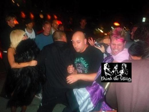 Perez Hilton Getting Punched