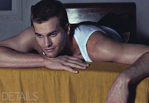 Tom Brady in Details Magazine