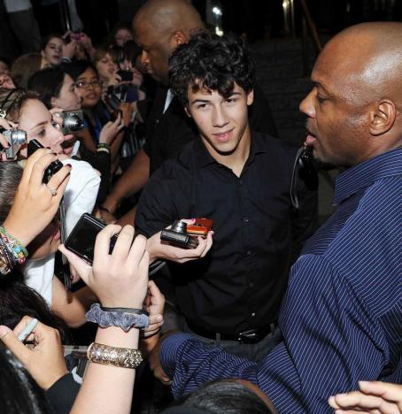 Mobbed by Fans