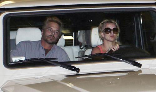 Britney Spears, Boyfriend Photo