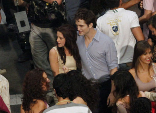 Breaking Dawn Set Picture