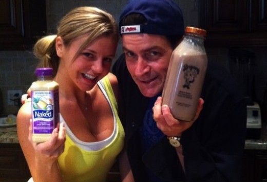 Charlie Sheen Twit Pic