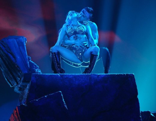 Lady Gaga on American Idol Finale