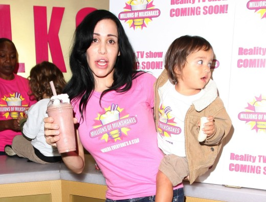 Octomom and 1 Kid