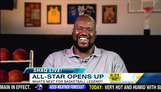 Shaquille O'Neal on GMA