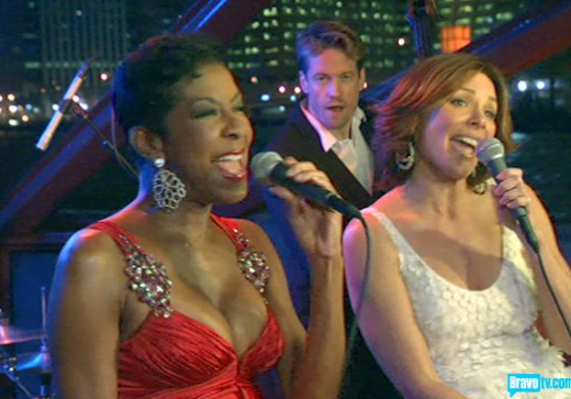 Countess LuAnn and Natalie Cole
