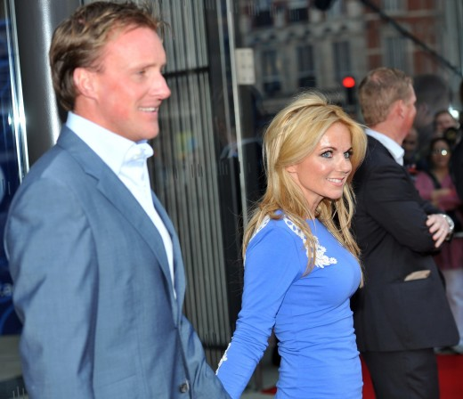 Geri Halliwell and Henry Beckwith