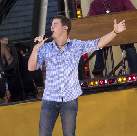 Scotty McCreery in Central Park