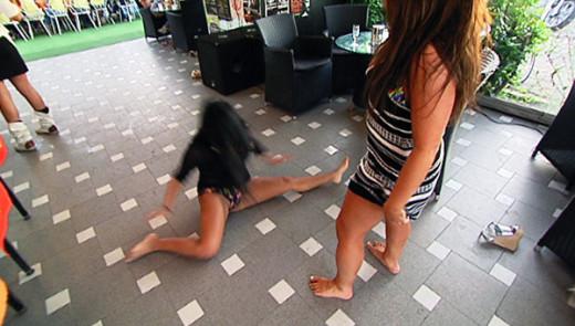 Deena and Snooki Dancing