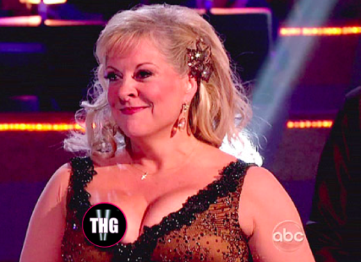 Nancy Grace Nipple Slip