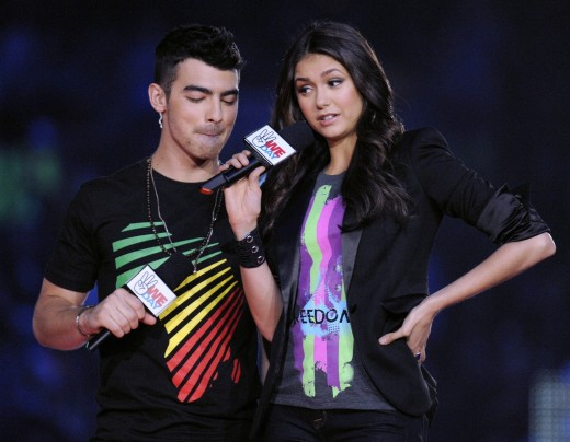 Nina Dobrev and Joe Jonas