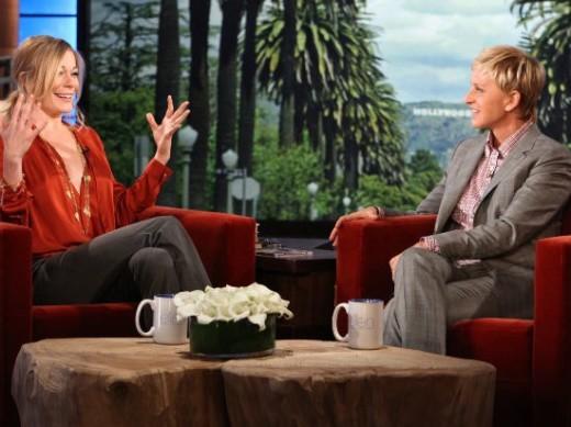 LeAnn Rimes and Ellen DeGeneres