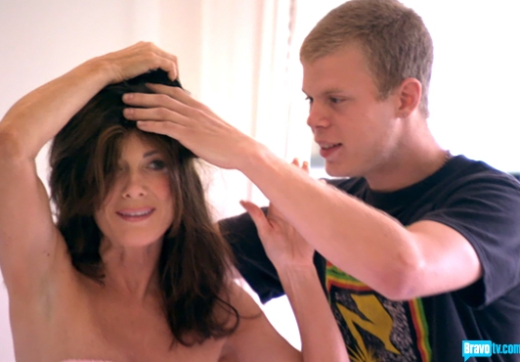Lisa Vanderpump, Hair