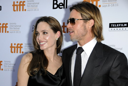 Brad Pitt With Angelina Jolie