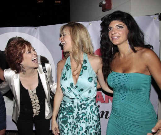 Caroline Manzo, Dina Manzo, and Teresa Giudice