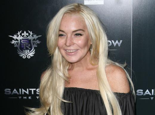 Busted Lindsay Lohan