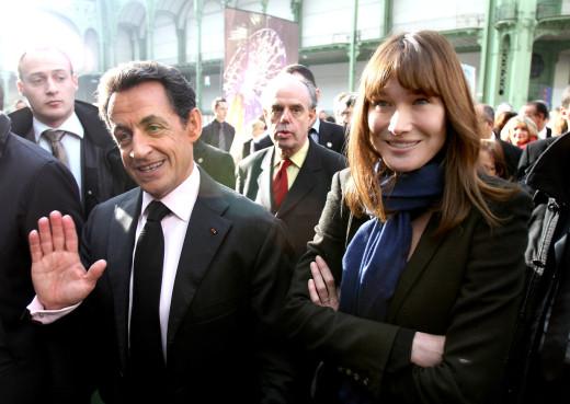 Carla Bruni-Sarkozy, Nicolas Sarkozy