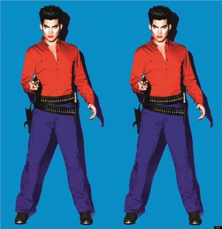 Adam Lambert Out Pics
