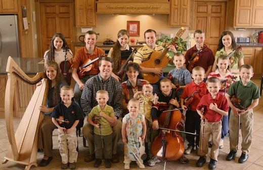 The Duggar Family Photo