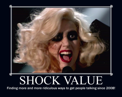 Lady Gaga Motivational Poster