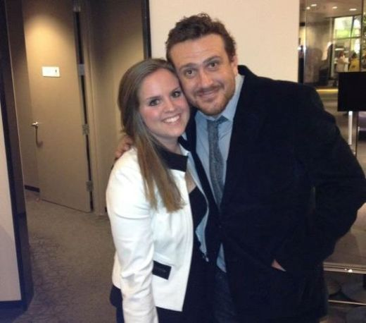 Chelsea Gill and Jason Segel