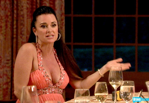 Kyle Richards Cleavage