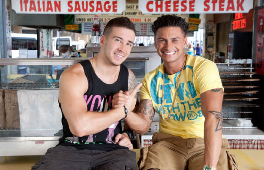 Vinny and Pauly D Photo
