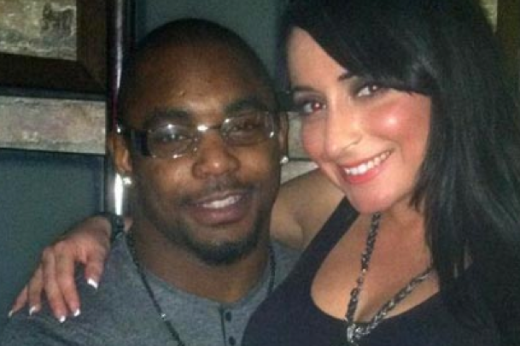 Ahmad Bradshaw and Angelina Pivarnick