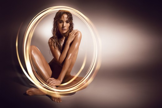 Jennifer Lopez Nude Perfume Ad