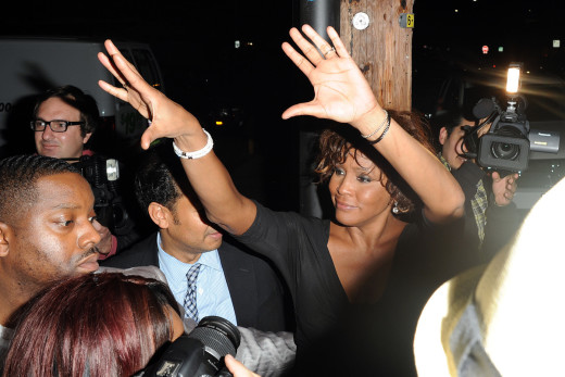 A Final Image of Whitney Houston