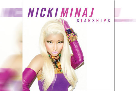 Nicki Minaj Single Art