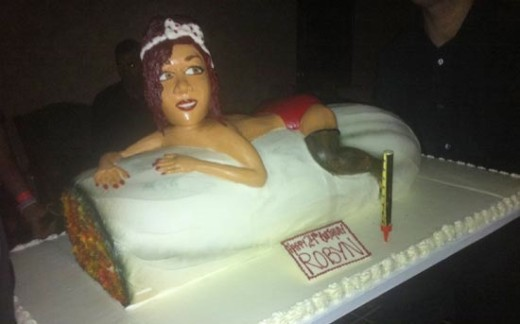 Rihanna Birthday Cake