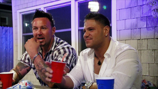 Roger Williams and Ronnie Magro