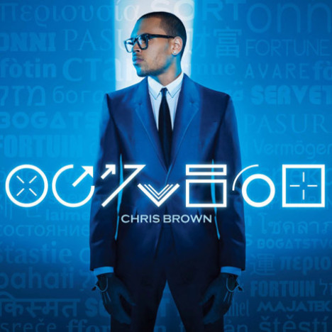 Chris Brown Fortune Album Cover