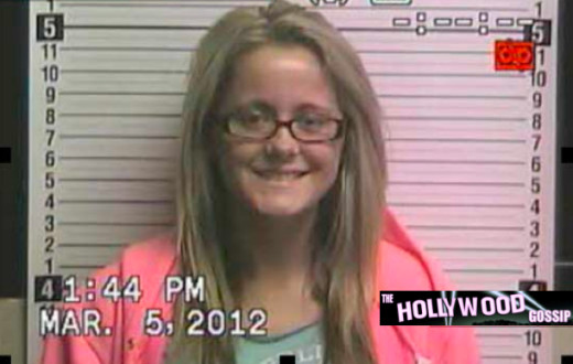 Jenelle Evans Mug Shot (March 2012)