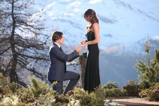 Ben Flajnik Proposing to Courtney Robertson