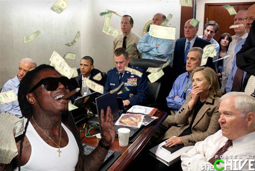 Lil Wayne in the Situation Room